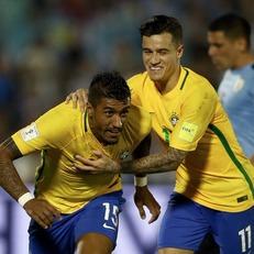 Бразилия разгромила Уругвай