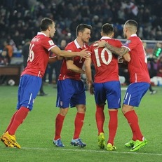 Сербия уверенно обыграла Грузию