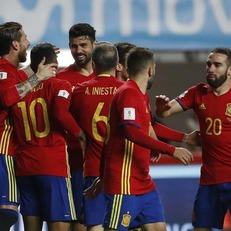 Испания крупно обыграла Израиль