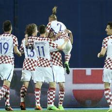 Украина минимально уступила Хорватии