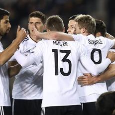 Германия уверенно разобралась с Азербайджаном
