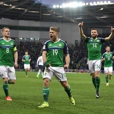 Северная Ирландия справилась с Норвегией