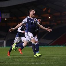 Шотландия минимально обыграла Словению