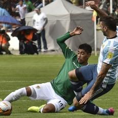 Аргентина без Месси уступила Боливии