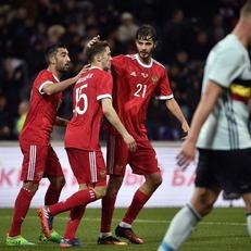 Россия и Бельгия сыграли вничью