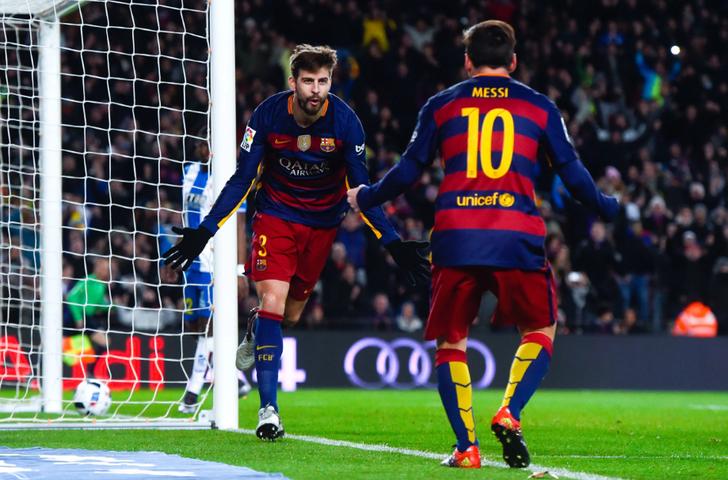 Пике пропустит матч «Гранада»— «Барселона»