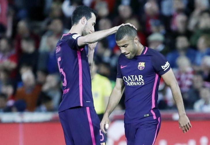 Полузащитник «Барселоны» Рафинья выбыл надве недели