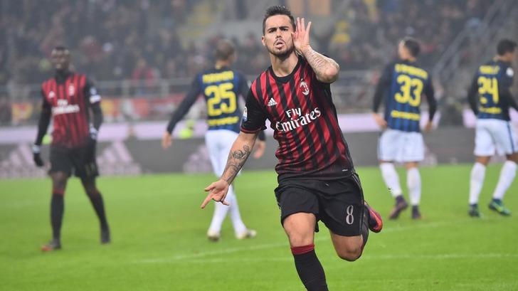 «Милан» ушел отпоражения вматче с«Интером» на6-й добавленной минуте