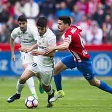 """""""Мадрид"""" на последних минутах вырвал победу у """"Спортинга"""" Х"""