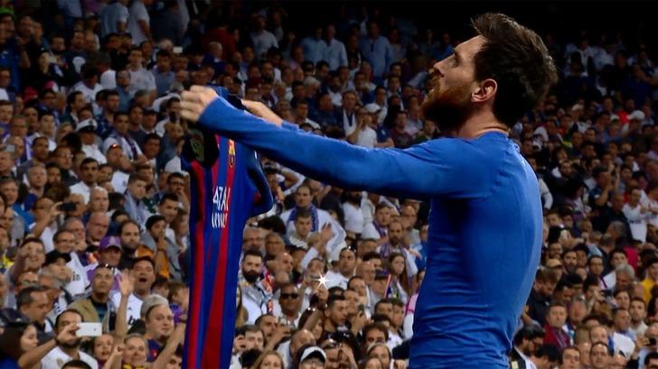 Неймар обнародовал свое дикое празднование гола Месси вворота Реала