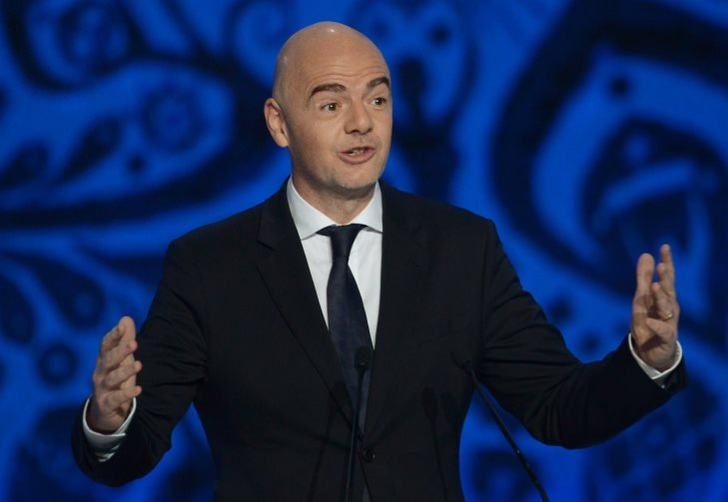 Президент ФИФА Джанни Инфантино; фото: РИА Новости / Григорий Сысоев