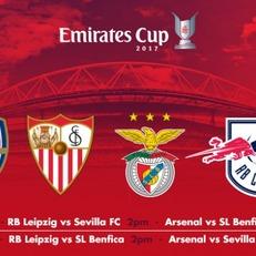"""""""Арсенал"""", """"Бенфика"""", """"Севилья"""" и """"Лейпциг"""" сыграют на Emirates Cup-2017"""
