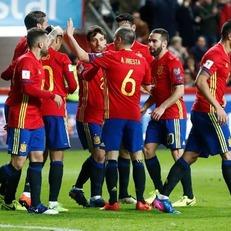 Испания проведет спарринг с Колумбией 7 июня