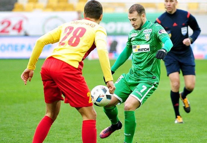 «Звезда» была сильнее «Карпат» врезультативном матче