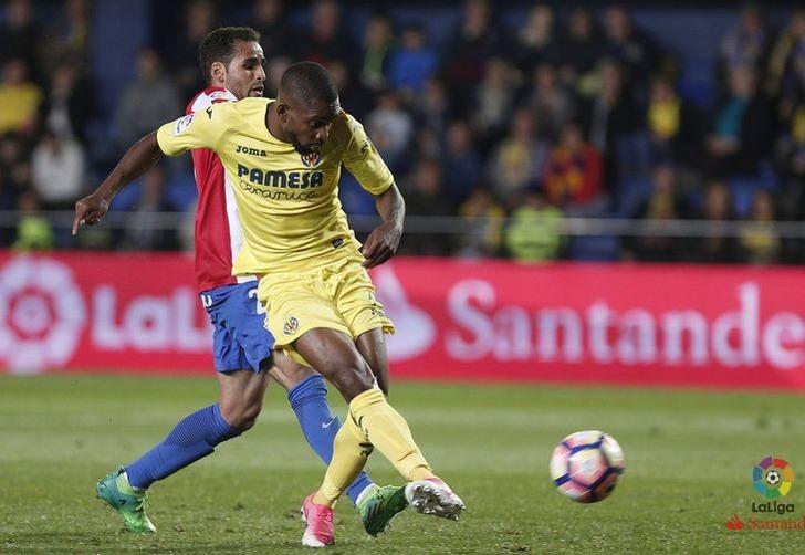 "Седрик Бакамбу дважды поразил ворота ""Спортинга"", laliga.es"