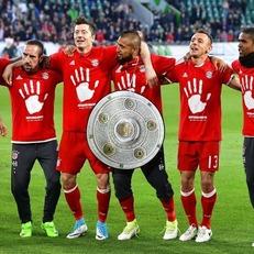 """""""Бавария"""" деклассировала """"Вольфсбург"""" и досрочно оформила 27-е чемпионство"""