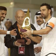 Хави завоевал первый трофей в Катаре