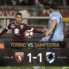 """""""Торино"""" и """"Сампдория"""" разошлись миром"""