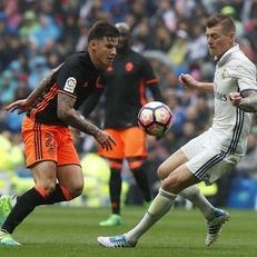 """""""Реал Мадрид"""" дожал """"Валенсию"""" и вернул себе лидерство"""