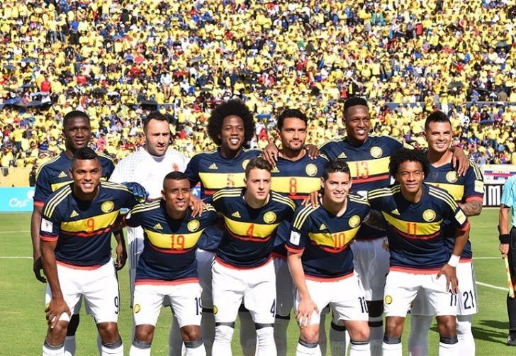 Сборная Колумбии, fcf.com.co