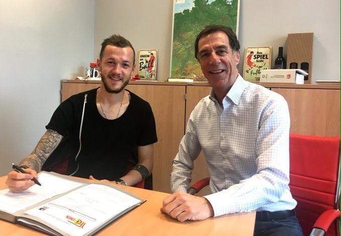 Марсель Хартель (слева), fc-union-berlin.de