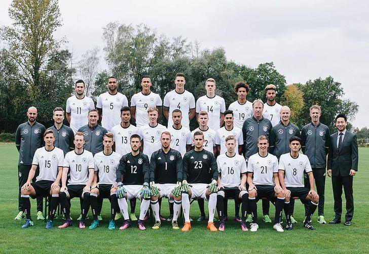 Молодежная сборная Германии, dfb.de