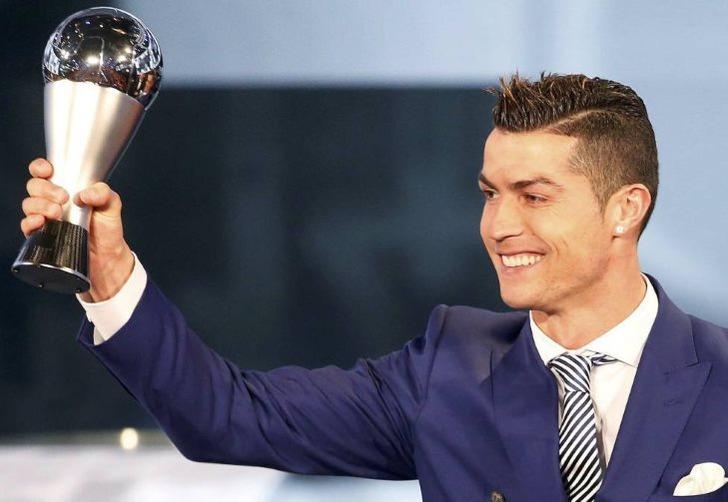 Криштиану Роналду, лучший игрок 2016 года по версии ФИФА; фото: Рубен Шприх, Reuters