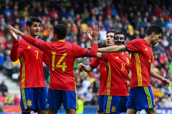 Сборная Испании, Getty Images