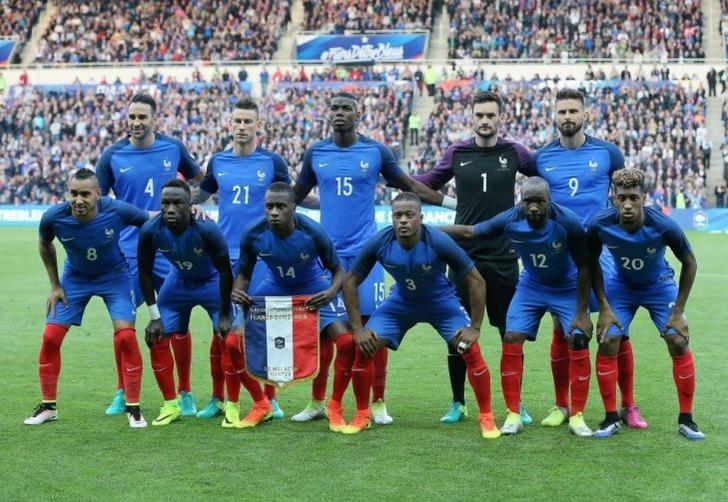 Сборная Франции по футболу; фото: Дэвид Винсент / Associated Press