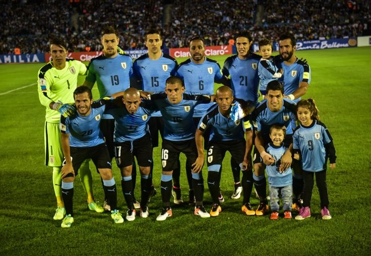 Сборная Уругвая по футболу; фото: Карлос Лебрато / Anadolu Agency / Getty Images