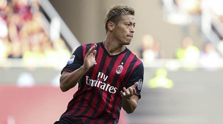 Хонда покинет «Милан» поокончании сезона