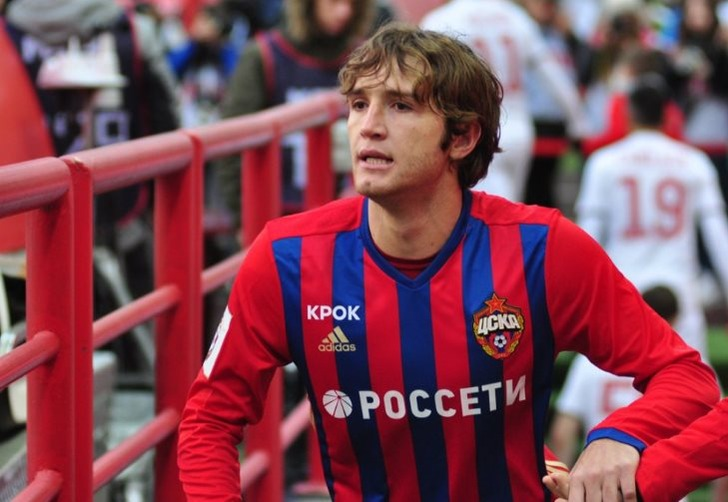 Фернандес иДзагоев выведены изсостава сборной РФ