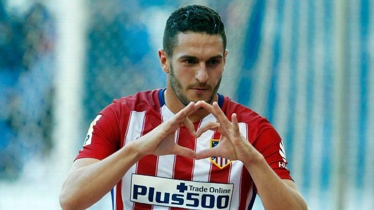 «Атлетико» объявил опродлении договора сКоке до 2024г.