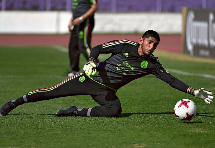Хосе Корона; фото: твиттер сборной Мексики по футболу