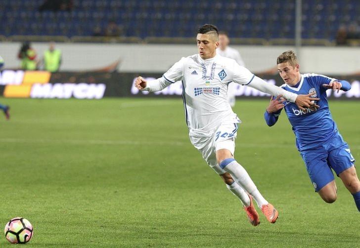 Евгений Хачериди (слева), ua-football.com