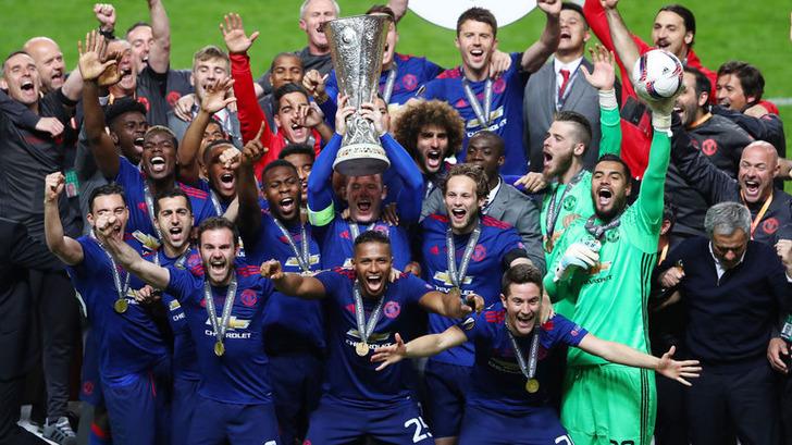 «МЮ» впервый раз одержал победу Лигу Европы