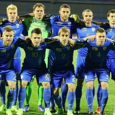 Украина осталась на 37-м месте в рейтинге ФИФА