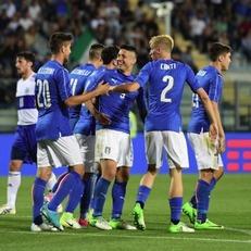 Италия разгромила Сан-Марино в товарищеском матче