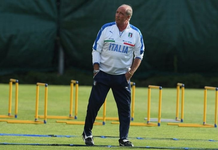 Главный тренер сборной Италии Джампьеро Вентура, vivoazzurro.it