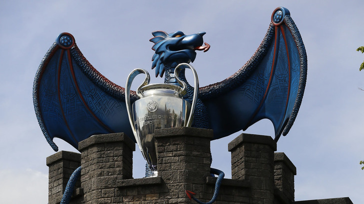 Трофей Лиги чемпионов в Кардиффе / Фото: Getty Images