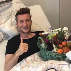 Марко Ройс успешно перенес операцию на связке колена