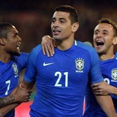 Диего Соуза забил самый быстрый гол в истории сборной Бразилии