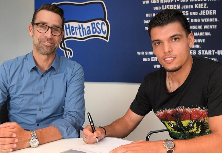 Карим Рекик (справа), herthabsc.de