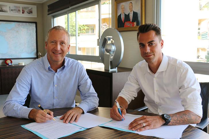 Диего Бенальо (справа), AS Monaco
