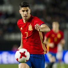 Три мяча Асенсио помогли Испании U-21 разгромить Македонию U-21