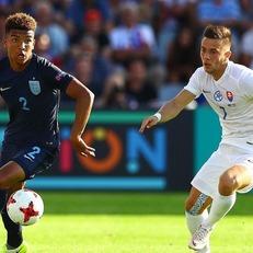 Молодежная сборная Англии обыграла Словакию