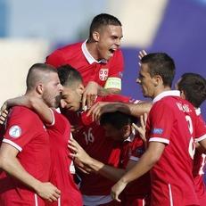 Сербия U-21 вырвала ничью в матче с Македонией