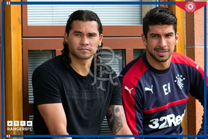 Карлос Пенья и Эдуардо Эррера, rangers.co.uk