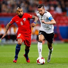 КК-2017. Германия и Чили победителя не выявили