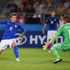 Италия минимально переиграла Германию U-21 благодаря Бернардески